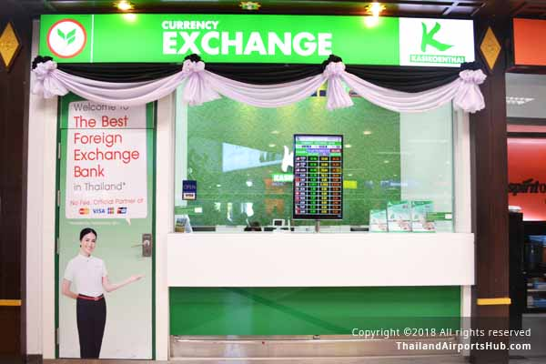 kasikorn exchange in chiangmai airport