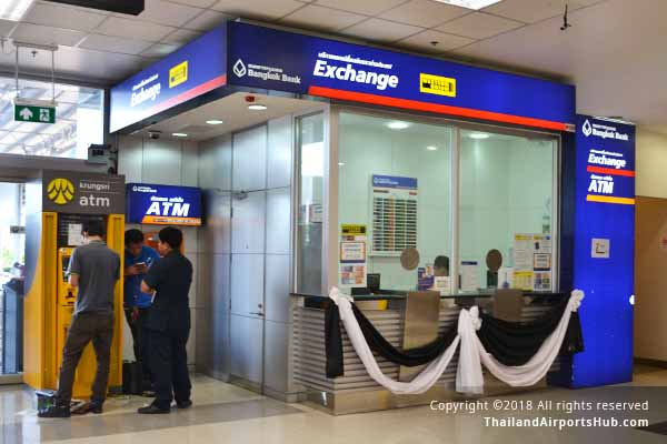 bangkok bank exchange in chiangmai airport